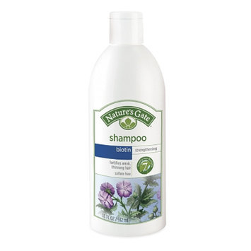 Nature's Gate Biotin Strengthening Shampoo