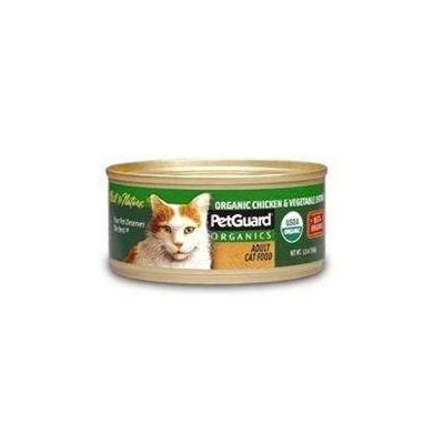 Petguard Canned Cat Food Chicken & Vegetable Entree Chicken &