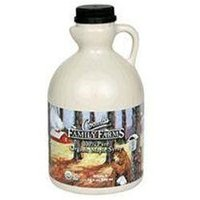 Coombs Family Farm 25609 Organic Grade B Maple Syrup Plastic