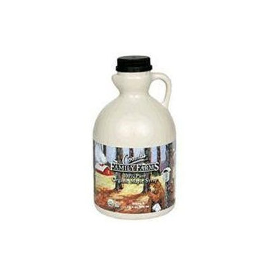 Coombs Family Farm 25609 Organic Grade B Maple Syrup Plastic