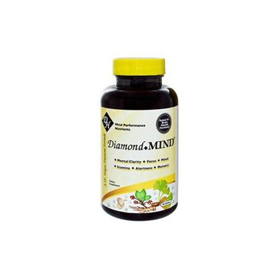 Frontier Natural Products Co-op 203010 Herpanacine Diamond Mind - Targeted Mind Performance Supplement 90 caplets