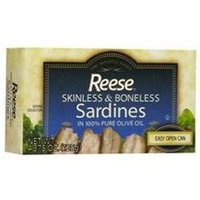 Reese Sardine in Olive Oil (10x4.37 Oz)