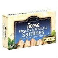 Reese Sardine In Water 4.37 Oz -Pack of 10