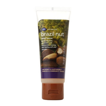Boots Extracts Brazil Nut Body Wash - 2.5 oz