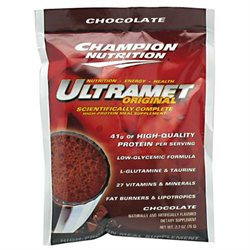 Champion Nutrition UltraMet, 60 Packets / CHOCOLATE