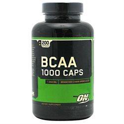 Optimum Nutrition BCAA 1000 Caps - 1000 mg - 200 Capsules
