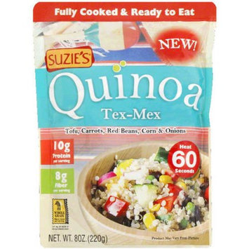 Suzies Suzie's Tex-Mex Quinoa, 8 oz, (Pack of 12)