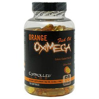 Controlled Labs Orange OxiMega Enteric Coated Fish Oil, Citrus, 120 ea