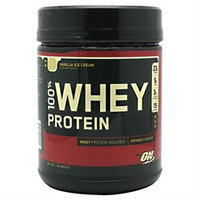 Optimum Nutrition, Inc. Optimum Nutrition 100% Whey Protein Vanilla Ice Cream - 1 lb