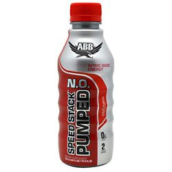 American Bodybuilding Abb 558857 22Oz Speed Stack Pumped N.O. Fruit Punch
