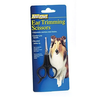 Four Paws Dog Grooming Ear Trimming Scissors