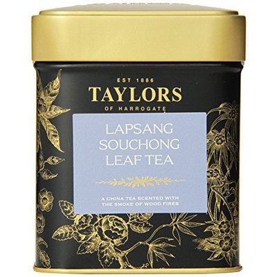 Taylors of Harrogate Lapsang Souchong Leaf Tea, Loose Leaf, 4.41-Ounce Tins