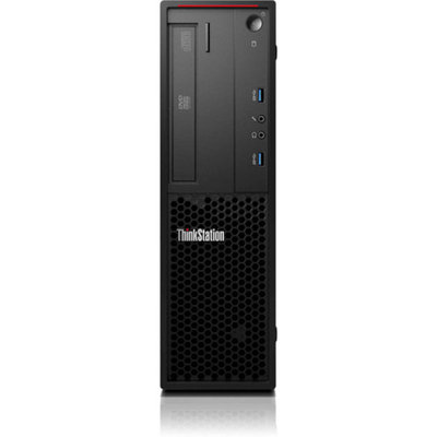 Lenovo Raven Black ThinkStation P300 Desktop PC with Intel Core i5-4590 Quad-Core Processor, 4GB Memory, 500GB Hard Drive and Windows 7 Professional (Monitor Not Included)