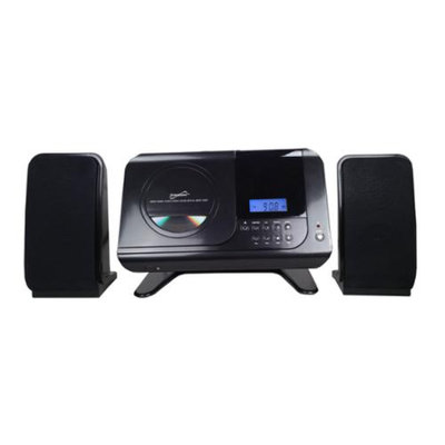 Supersonic Home Audio System with MP3/CD Player and PLL AM/FM Radio