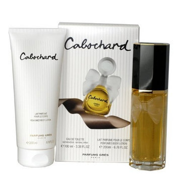 Cabochard By Parfums Gres For Women. Set-edt Spray 3.4 oz & Body Lotion 6.7 oz
