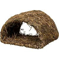 Marshall Pet Products Marshall Pet Woven Grass Hide A Way Hut