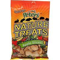 Marshall Pet Products Marshall Pet Peters Nature Treats - Apple Slices