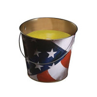 Lamplight Farms 1408203 Candle Citronlla Us Flag (PACK OF 6)