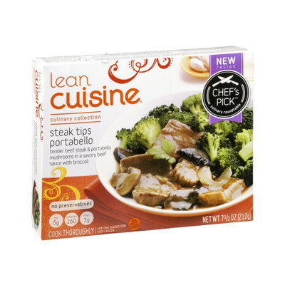 Lean Cuisine Culinary Collection Steak Tips Portabello
