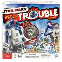 Hasbro R2D2 is in Trouble Game Ages 5 and up, 1 ea