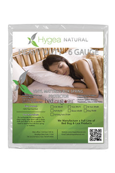 Bed Bug 911 6 Gauge Vinyl Waterproof Allergen & Dust Mites Mattress or Box Springs Cover - Crib Size VIN-CRIB