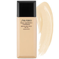 Shiseido Sheer and Perfect Foundation SPF 18