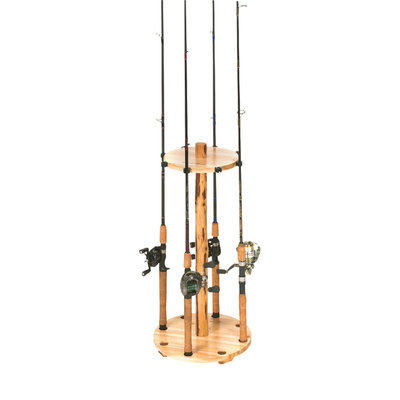 Rush Creek Round 8 Fishing Rod Rack