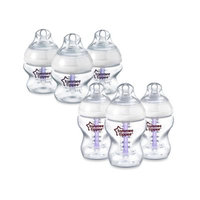 Tommee Tippee Closer to Nature Added Comfort 9oz Bottle - 3ct