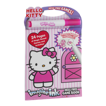 Imagine Ink Hello Kitty Mess Free Game Book