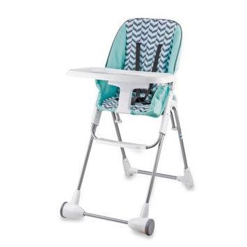 Evenflo Company Inc. Evenflo Symmetry Flat Fold High Chair in Spearmint Spree