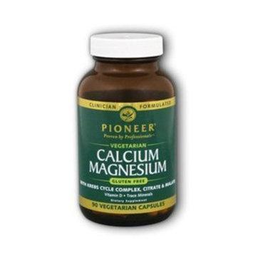 Pioneer Verified Gluten Free Cal Mag, Veg Gluten Free 1000mg/500mg - 90 - VegCap