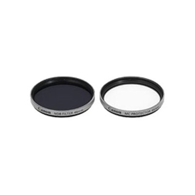 Canon FS-H46U 46mm Filter Set with Neutral Density (ND.8) Filter and MC Protection Filter.