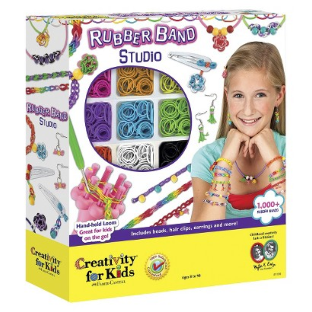 Faber-Castell Creativity for Kids Rubberband Bracelet Craft Kit