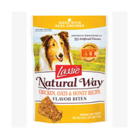 Lassie Natural Way Chicken, Oats & Honey Flavor Bites
