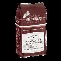 Papa Nicholas Premium Coffee Whole Bean Hawaiian Islands Blend