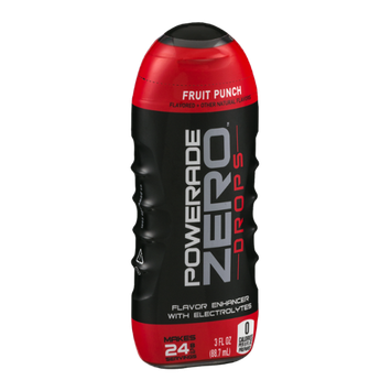 Powerade Zero Drops Flavor Enhancer with Electrolytes Fruit Punch