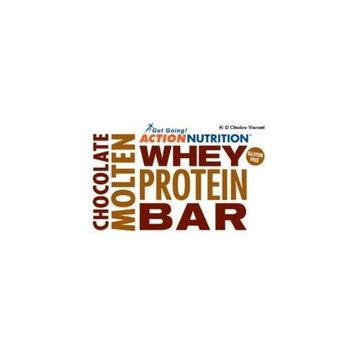 Action Chocolate Molten Cholov Yisroel Whey Protein Bar