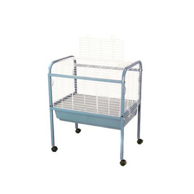 Prevue Pet Products Small Animal Cage with Stand - Caribbean Blue &