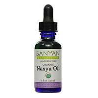 Banyan Botanicals Nasya Oil - Certified Organic - Supports Clear Breathing