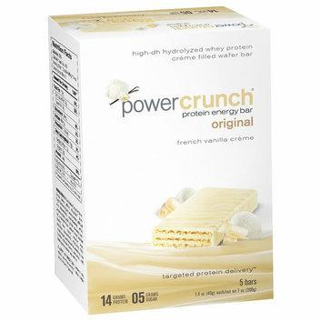 Power Crunch Original French Vanilla Creme Protein Energy Bars
