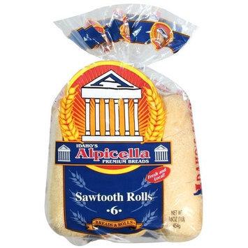 Idaho's Alpicella Premium Breads Sawtooth Rolls, 16 oz