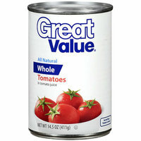 Great Value : Whole Tomatoes