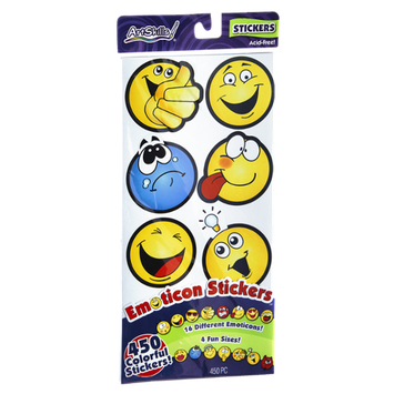 ArtSkills Emoticon Stickers - 450 CT