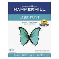 Hammermill Laser Print Office Paper, 98 Brightness, 24 lb - White