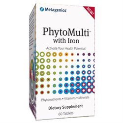 Metagenics PhytoMulti Multivitamin with Iron, Tablets, 60 ea
