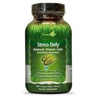 Irwin Naturals Stress-Defy - 84 Liquid Softgels