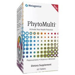 Metagenics PhytoMulti Multivitamin without Iron, Tablets, 60 ea