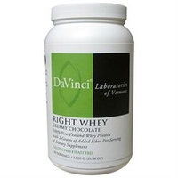 DaVinci Laboratories - Right Whey New Zealand Whey Protein Creamy Chocolate Flavor - 2.29 lbs.