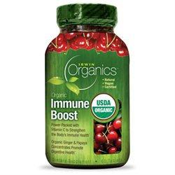 Irwin Naturals, Organics, Organic Immune Boost, 60 Tablets