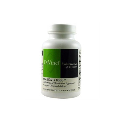 DaVinci Laboratories Omega-3 1000 - 90 Enteric Coated Softgels